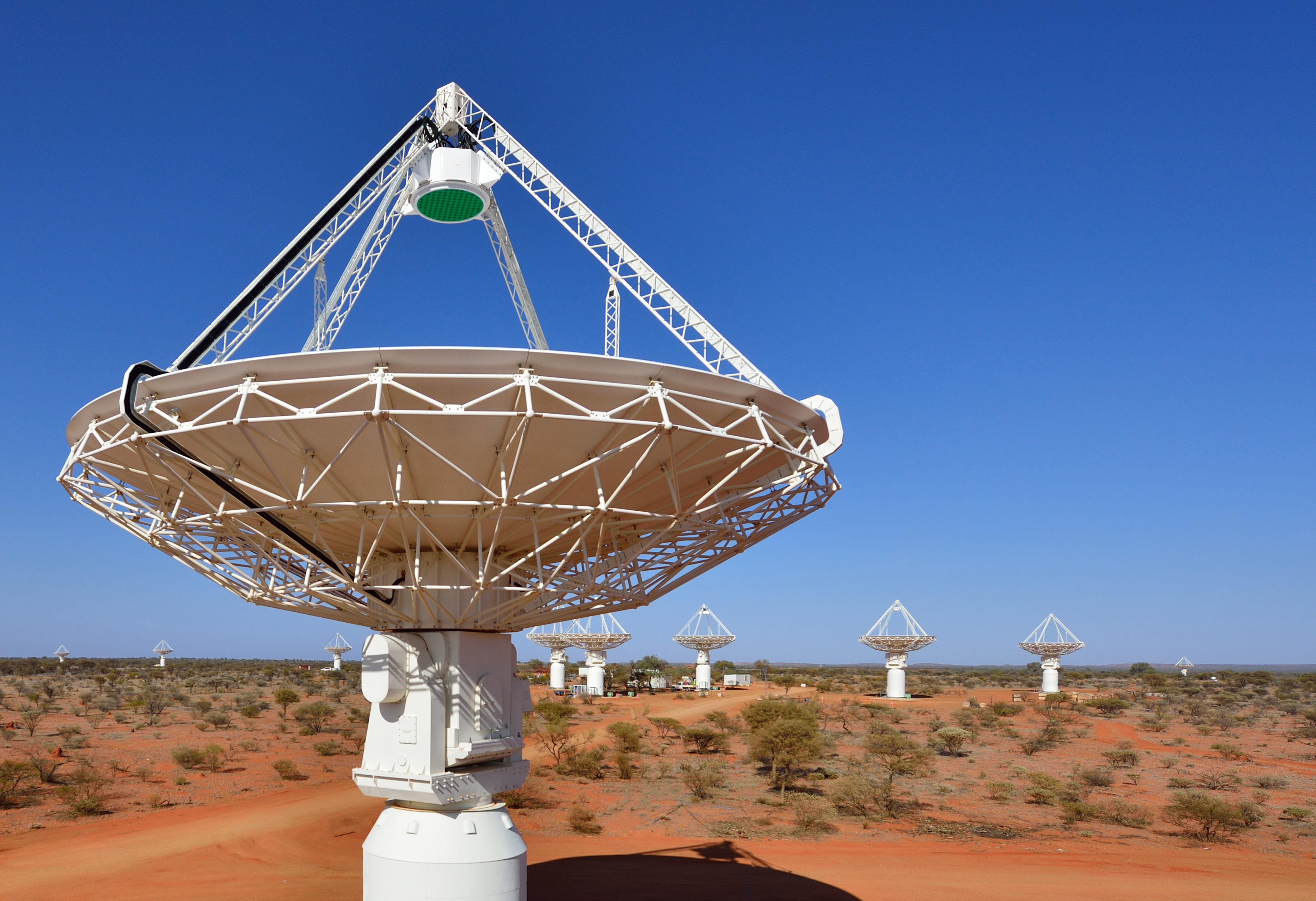 paf system of the ska precursor telescope askap wins