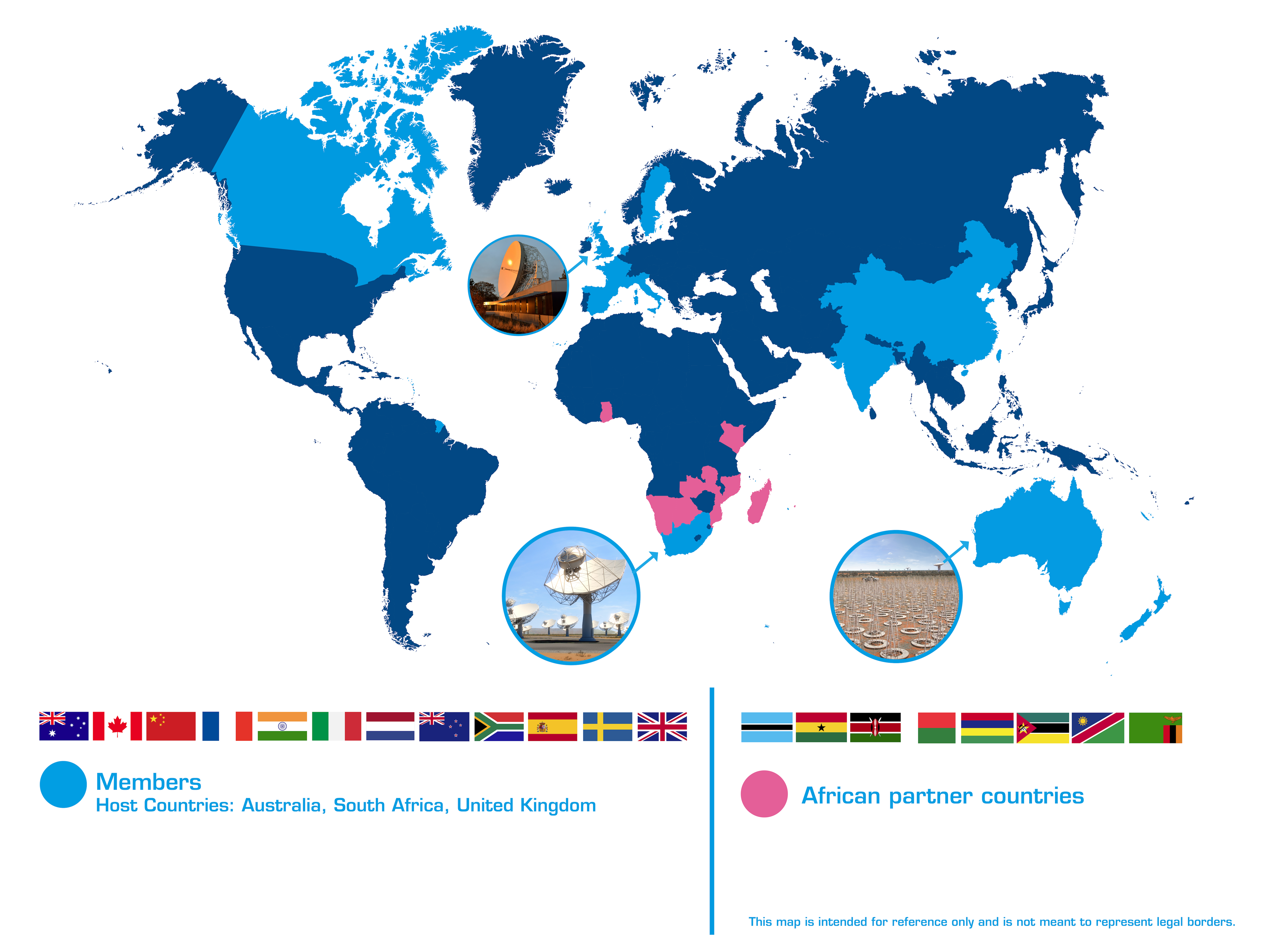 participating countries ska telescope
