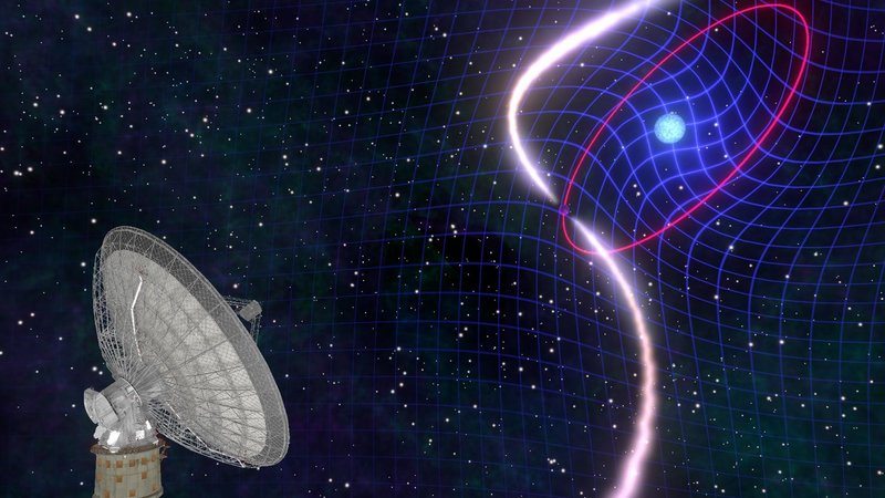 Astronomers Detect Distant Space Time Dragging For The First Time Public Website