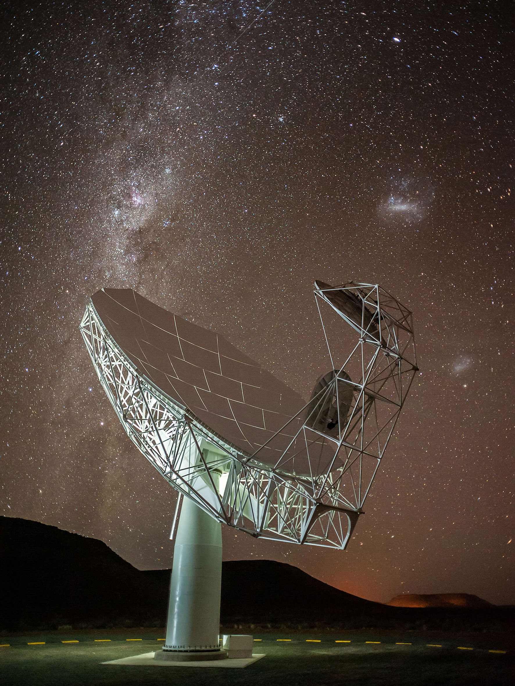 05 First of the MeerKAT Precursor Telescope Dishes