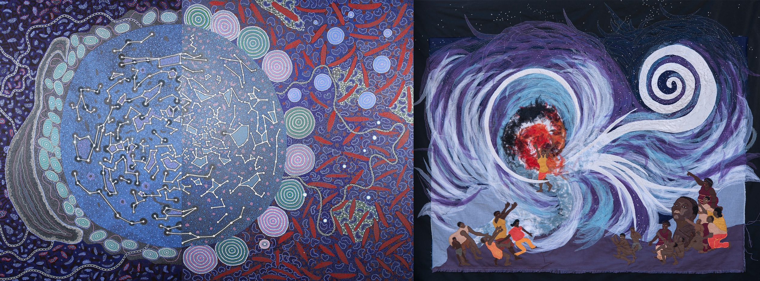 Shared Sky - the SKA's indigenous art/astronomy exhibition ...