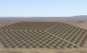 An artist impression of the complete HERA array.