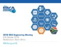 Start of the 2016 SKA Engineering Meeting in South Africa
