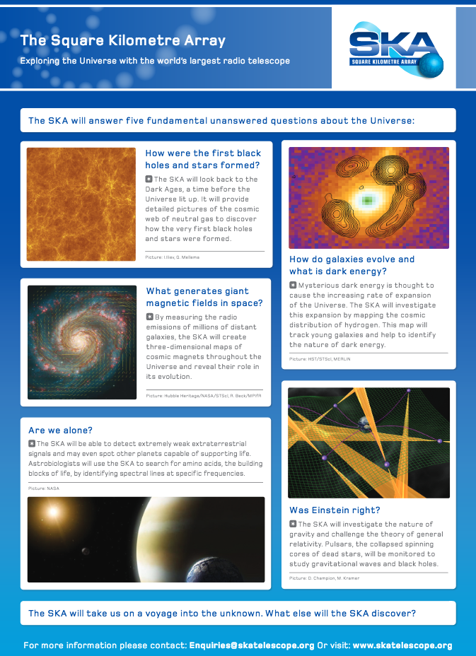 Science poster image