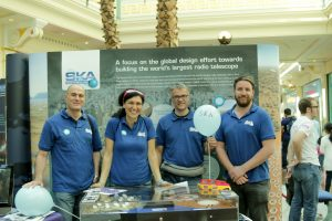Team SKA at ScienceX at the Trafford Centre in 2017