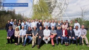 Group photo of the Telescope Manager consortium
